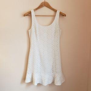 Lilly Pulitzer Dresses - Lilly Pulitzer Sevilla Crochet Lace Dress White